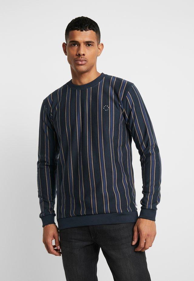 MUFTI VICKTORY CREW - Sweatshirt - navy