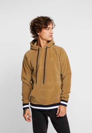 BLUMPE HOOD - Sweat à capuche - brownie