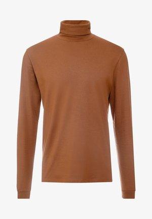 AMIN TURTLENECK - Langarmshirt - brownie