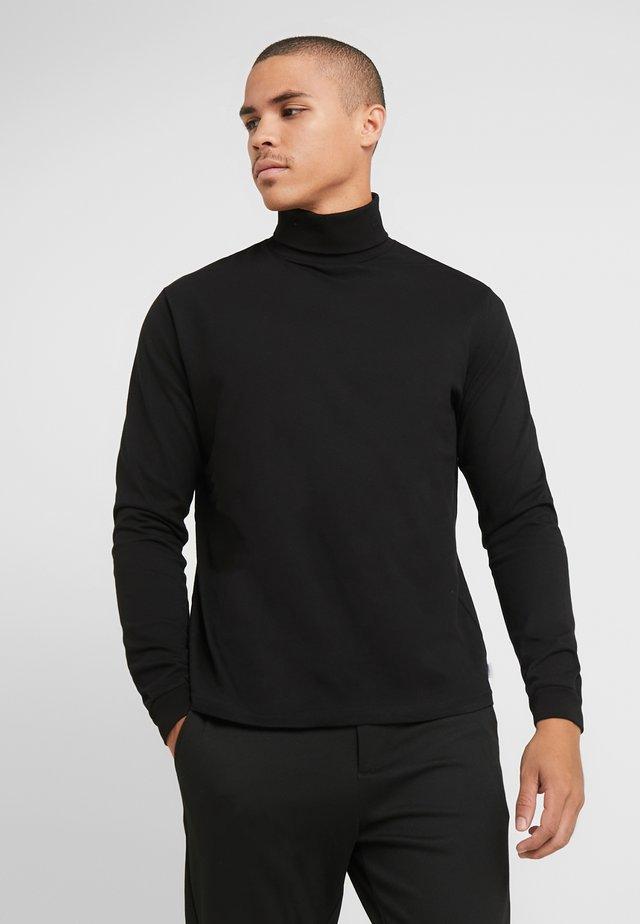 AMIN TURTLENECK - Langærmede T-shirts - black