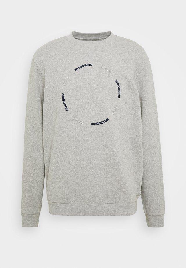 MUFTI SIRK CREW - Sweater - grey