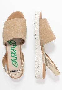Wonders Green - Sandals - sahara - 3