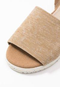 Wonders Green - Sandals - sahara - 2