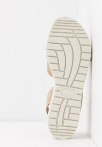 Wonders Green - Sandals - gaz nata/beige - 6