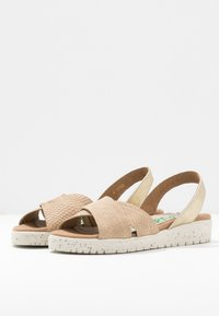 Wonders Green - Sandals - gaz nata/beige - 4