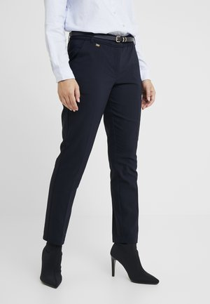 DOUBLE FACED CIGARETTE - Trousers - navy