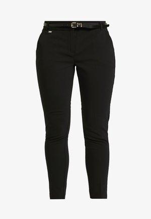 DOUBLE FACED CIGARETTE - Pantaloni - black