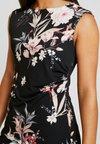 Wallis Petite - EVENT BIRD RUCHE SIDE DRESS BLACK - Jerseykjoler - black