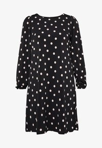 Wallis Petite - SPOT SWING DRESS - Vestido ligero - black - 4