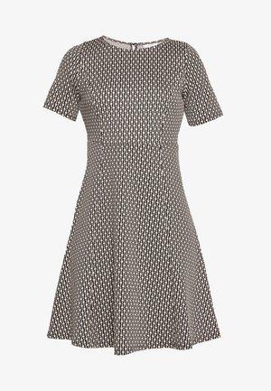 CHAIN JACQUARD DRESS - Vestito estivo - stone