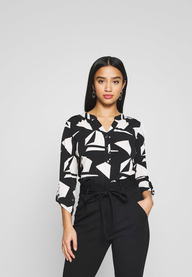 Wallis Petite - GEO ITY - T-shirt à manches longues - black