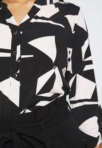 Wallis Petite - GEO ITY - T-shirt à manches longues - black - 5