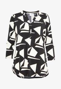 Wallis Petite - GEO ITY - T-shirt à manches longues - black - 4