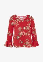 FLORAL PAISLEY TWINKLE - Bluser - red
