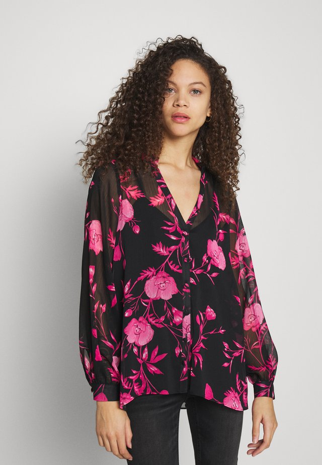 FLORAL - Blouse - pink