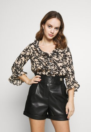 NEUTRAL GARDEN FLORAL - Blouse - neutral