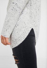 Wallis Petite - HIGH NECK NEPP CURVE HEM - Pullover - grey - 5