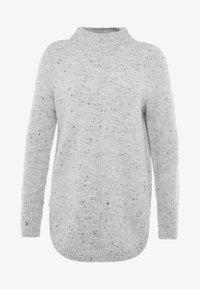 Wallis Petite - HIGH NECK NEPP CURVE HEM - Pullover - grey - 4