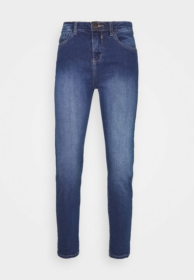 MIDWASH SCARLET - Jeansy Straight Leg - blue