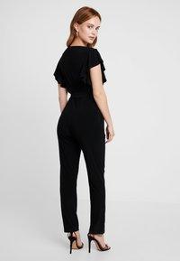 Wallis Petite - FRILL - Tuta jumpsuit - black - 3