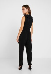 Wallis Petite - NECK FRILL - Jumpsuit - black - 2