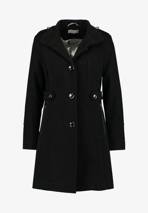 FUNNEL COAT - Manteau classique - black
