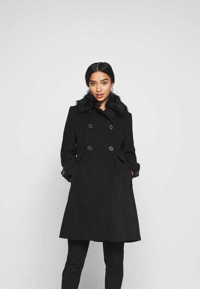 PETITE FAUX - Frakker / klassisk frakker - black