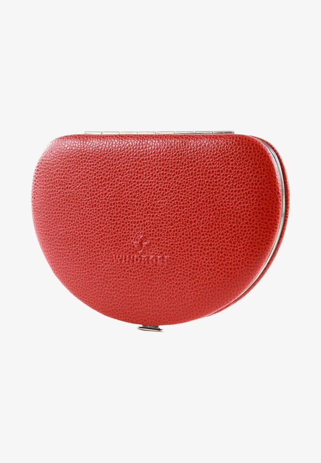 Wash bag - red