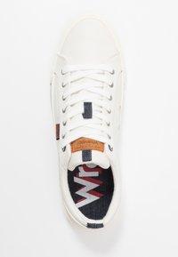 Wrangler - GLOBE VEGAN - Sneakersy niskie - white - 1