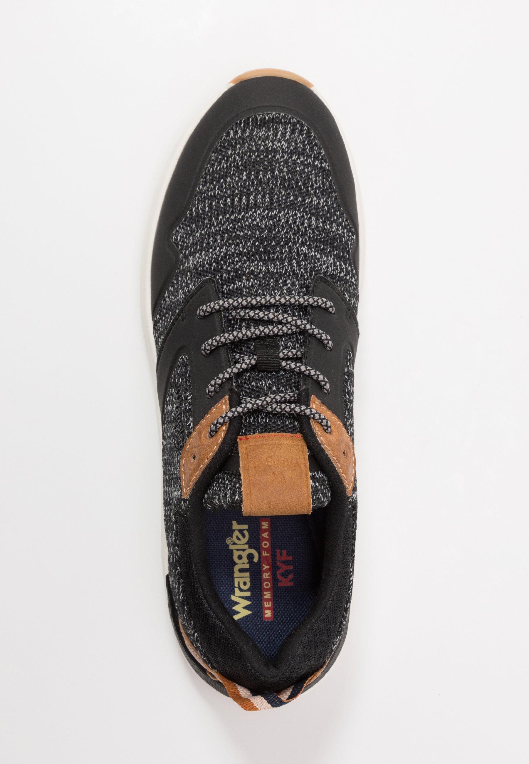 Wrangler SEQUOIA - Sneakersy niskie - black