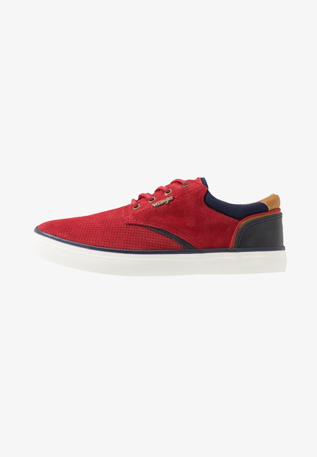 MONUMENT - Sneaker low - red