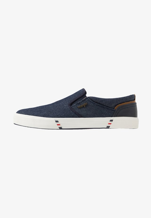 MONUMENT  - Slipper - blue japan