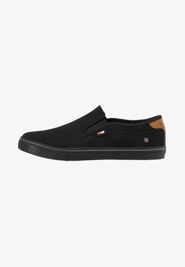 ODYSSEY - Loaferit/pistokkaat - black