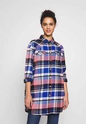 OVERSHIRT DRESS - Košilové šaty - cobalt blue