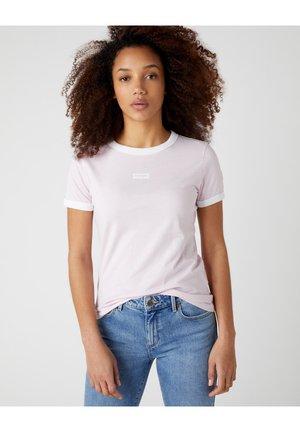 RINGER TEE - T-shirt z nadrukiem - lilac ice