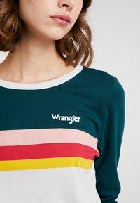 Wrangler - RAINBOW TEE - Long sleeved top - cloud blue - 4