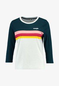 Wrangler - RAINBOW TEE - Long sleeved top - cloud blue - 3