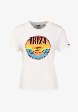 REGULAR TEE - T-shirt print - offwhite