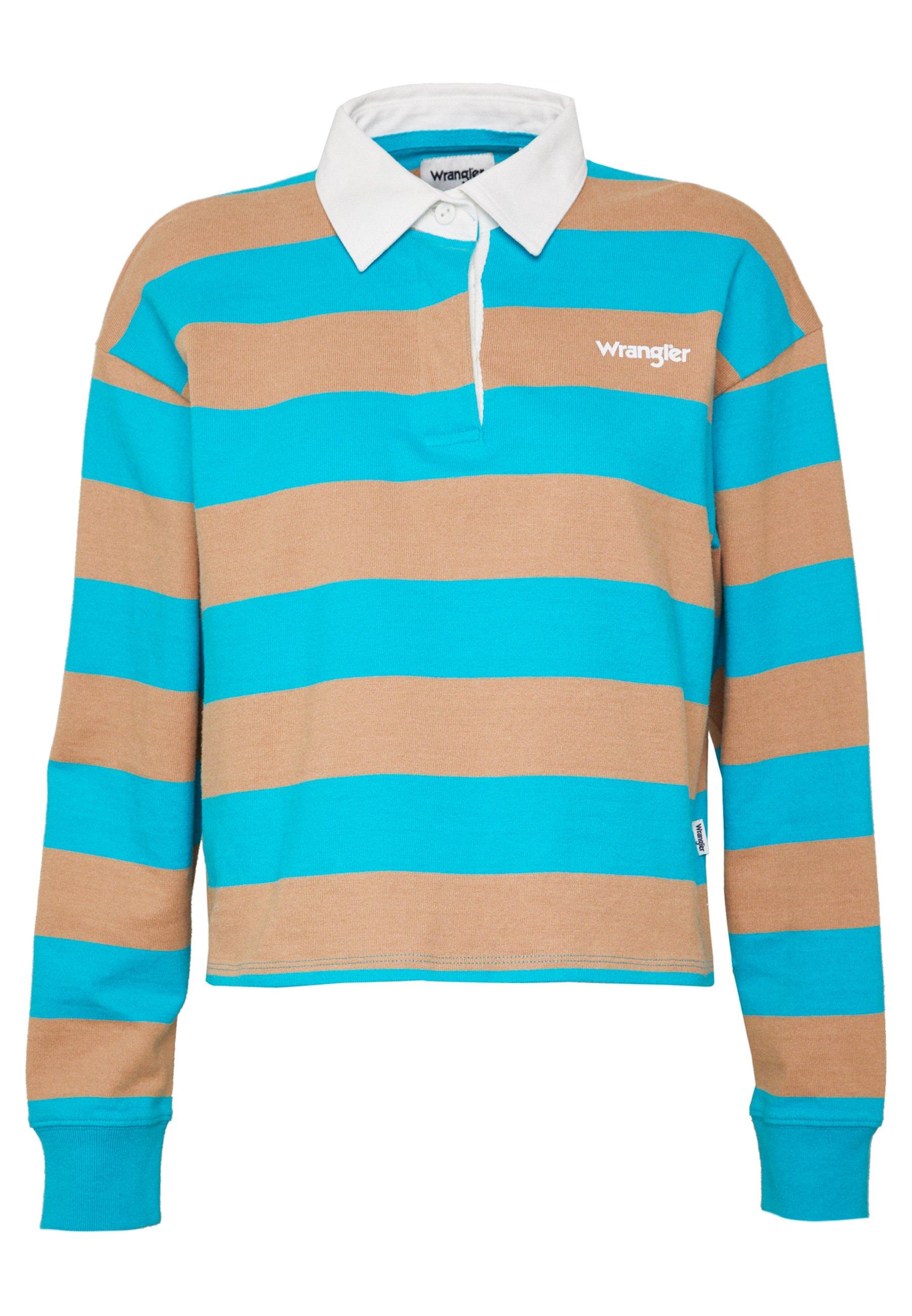 Wrangler CROPPED - Koszulka polo - carribean sea