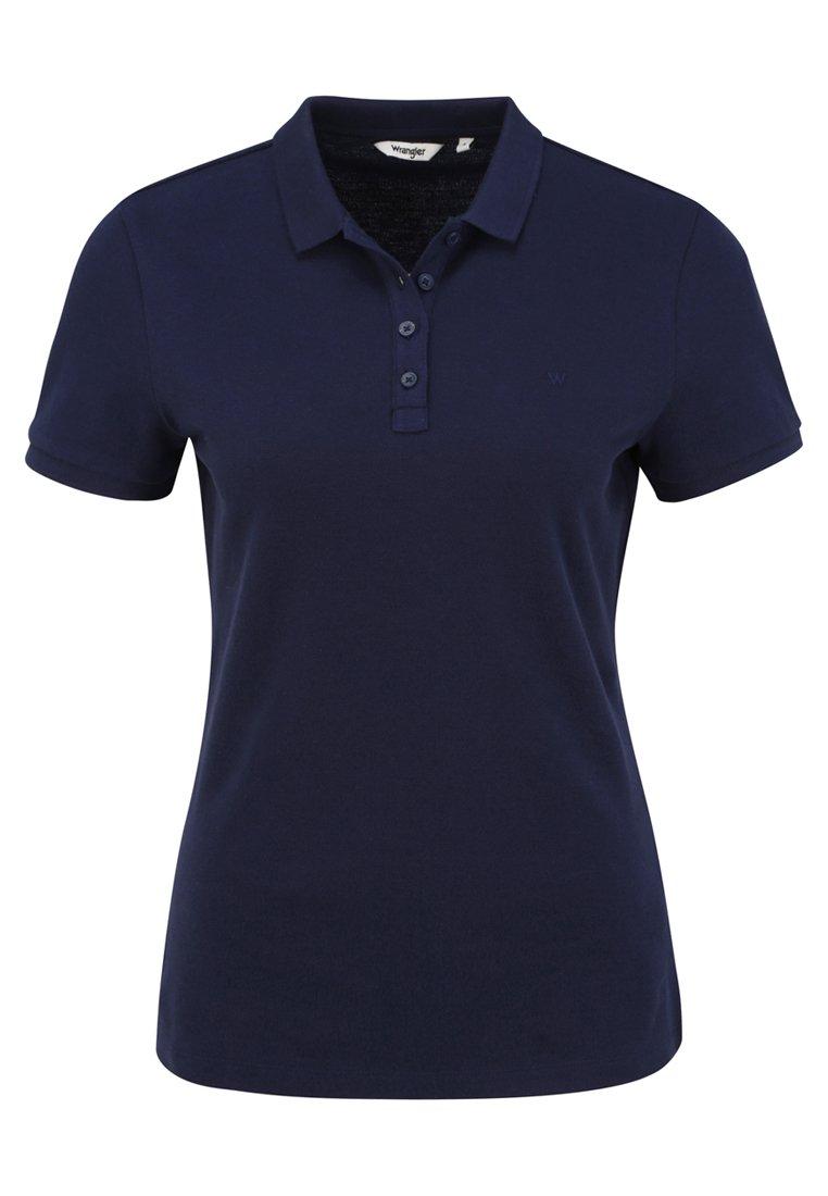 Wrangler Polo Shirt - Navy UK