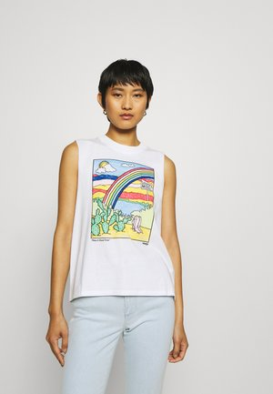 SLEEVELESS TEE - Top - white
