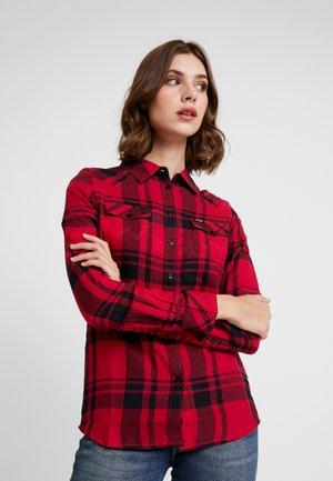 WESTERN CHECK - Koszula - magenta red
