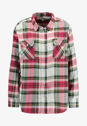 NEW BOYFRIEND - Camicia - magenta/red