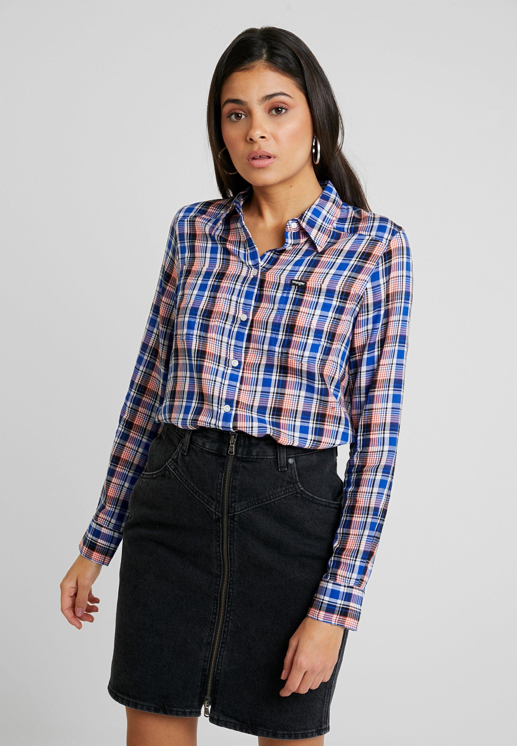 Wrangler SLIM REGULAR - Skjorte - cobalt blue