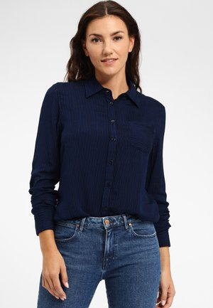 Overhemdblouse - blue/black