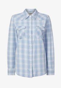Wrangler - WESTERN - Button-down blouse - light indigo - 4