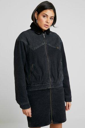 Džínová bunda - black stone