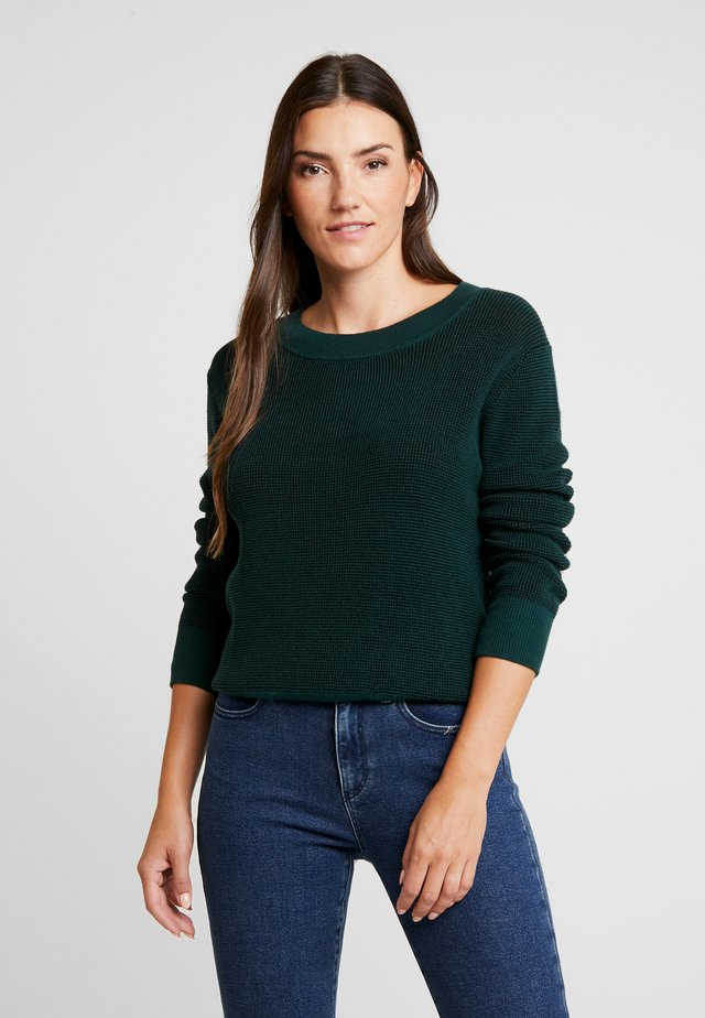 TWO TONE - Sweter - pine