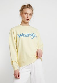 Wrangler - 80´S RETRO - Sweatshirt - french vanilla - 0