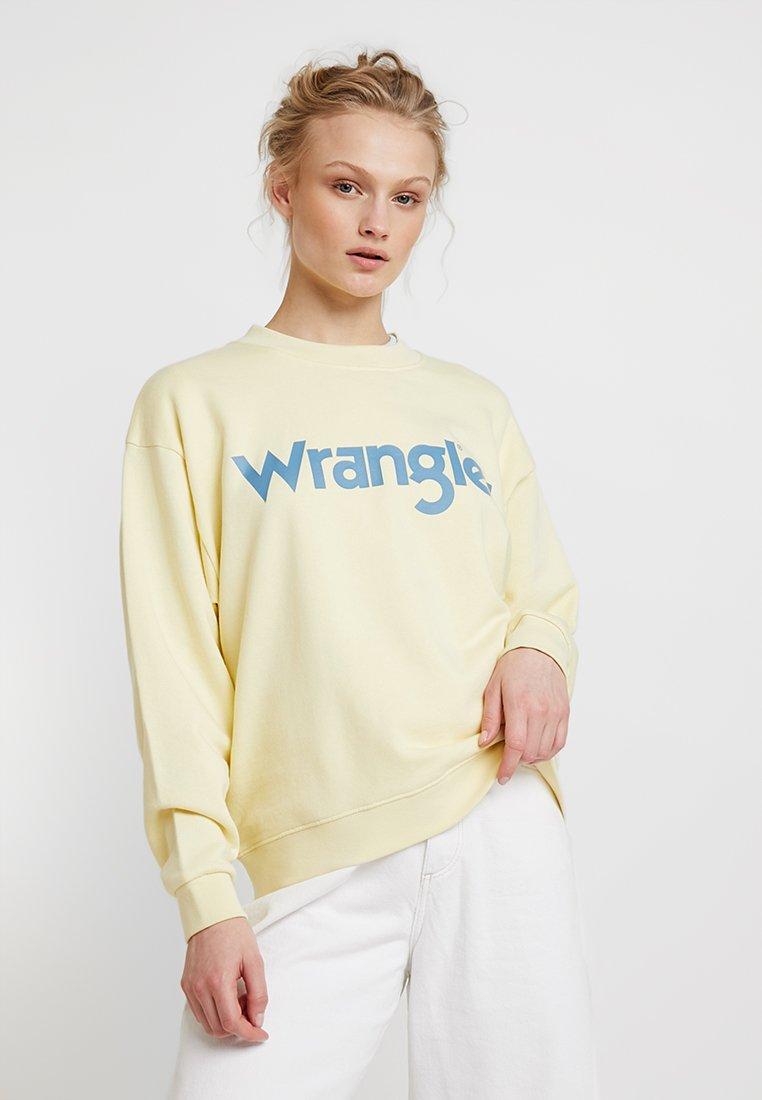 Wrangler - 80´S RETRO - Sweatshirt - french vanilla